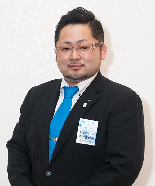 青年会議所メンバー 加澤 和樹